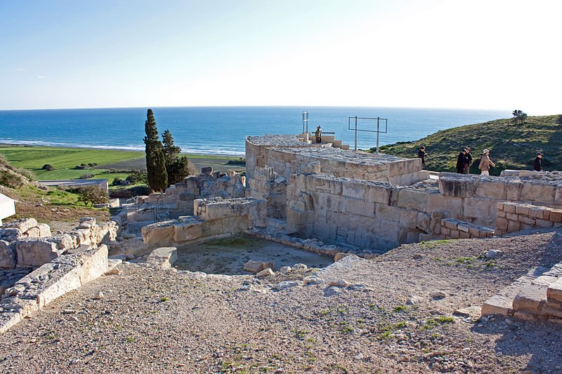 Ancient Roman Theater in Kourion, Cyprus