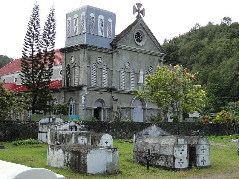 Anse La Reye Catholic Church, Saint Lucia