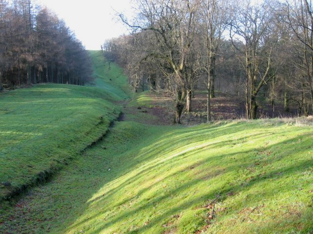 Antonine Wall at Bar Hill