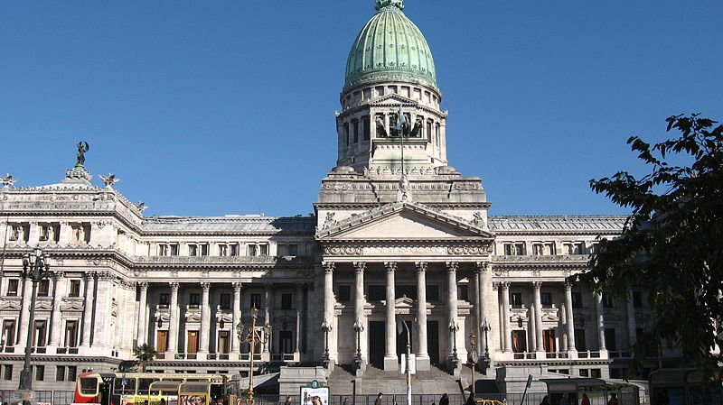 Argentine National Congress in Buenos Aires, Argentina