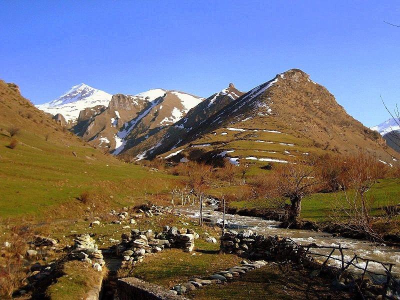 Mountain landscape of Kosovo