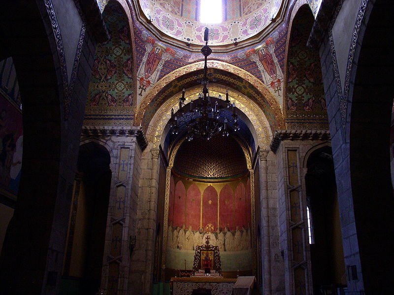 Interior of the Armenian Church, Lviv