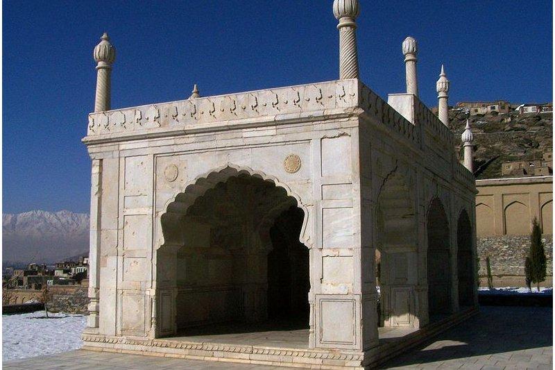 Baghe Babur Mosque, Kabul