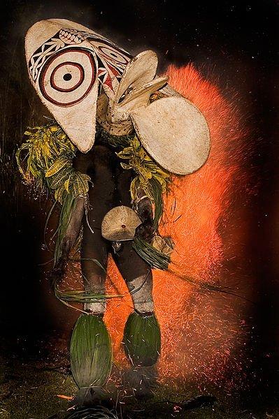 Baining Fire Dance of Baining, New Britain, Papua New Guinea