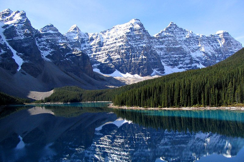 Ten Peaks and Moraine Lake, Banff National Park