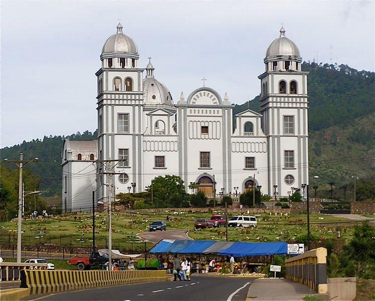 Basilica Virgen de Suyapa in Tegucigalpa, Honduras