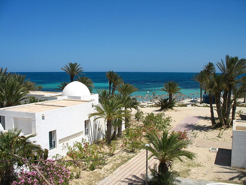 Beach at Djerba, Tunisia