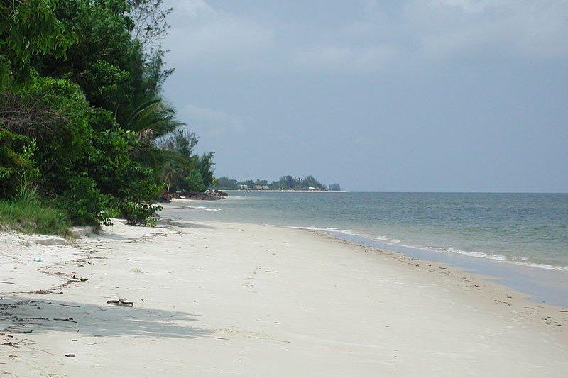 Beach at Port Denis, Gabon