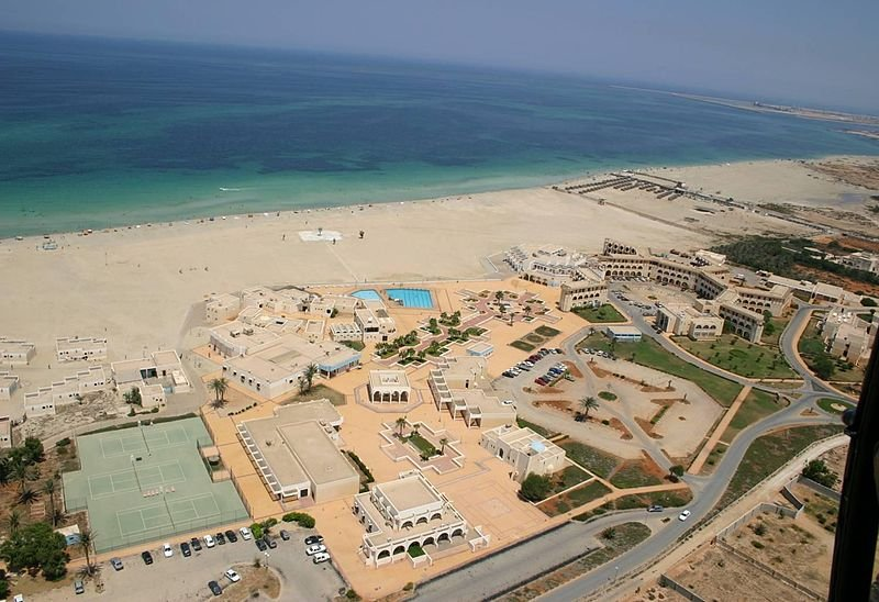 Beach in Benghazi, Libya