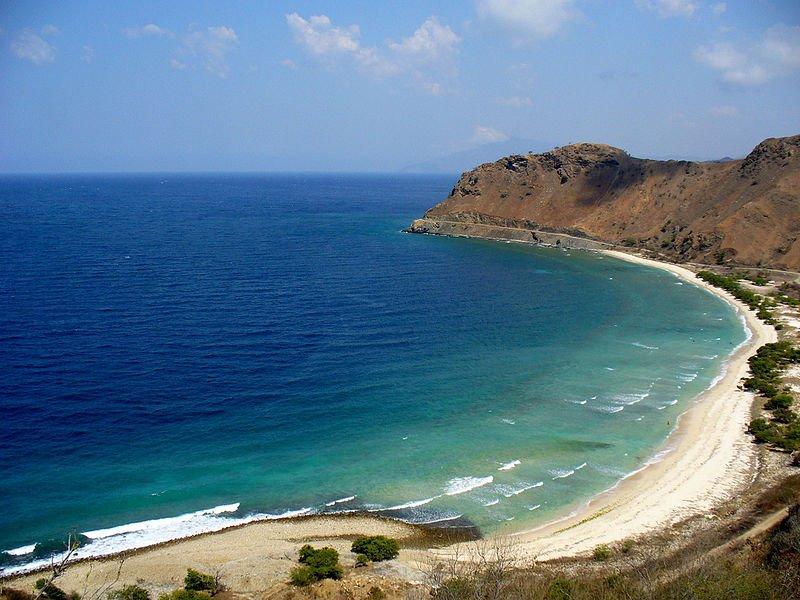 Beach in Dili, East Timor