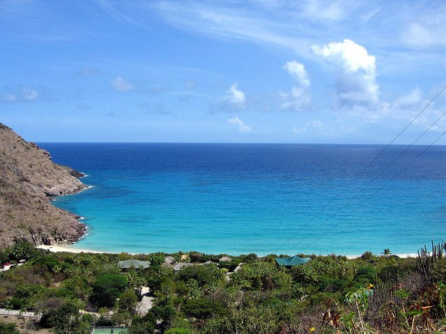 Beach in St Barts