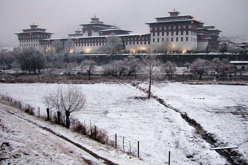Tashichhoe Dzong, Bhutan