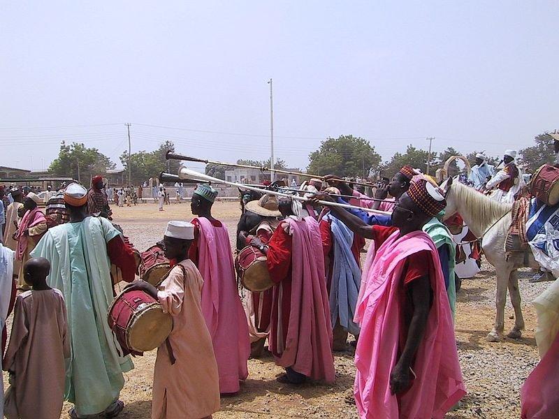Bida durbar festival, Nigeria