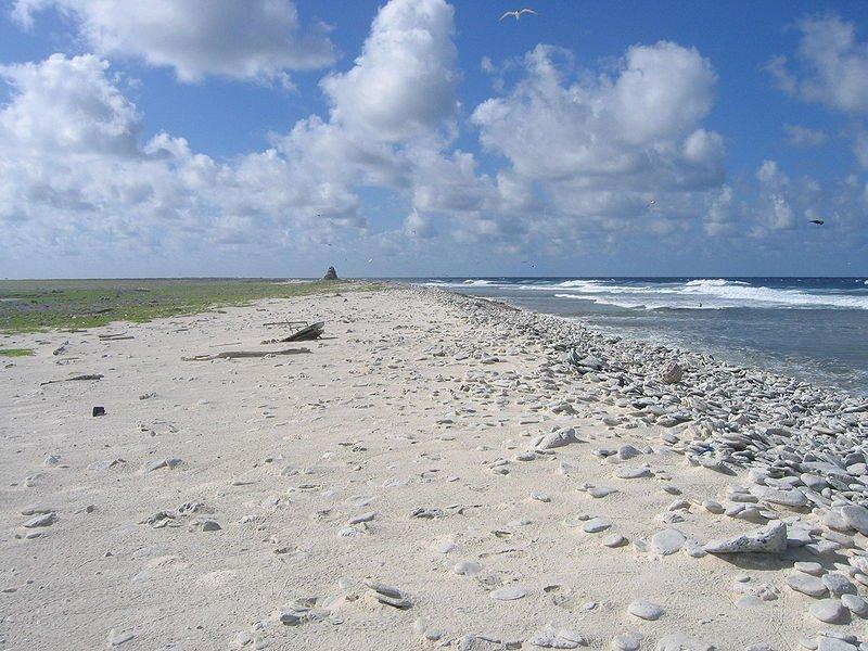 Birnie Island Beach, Kiribati