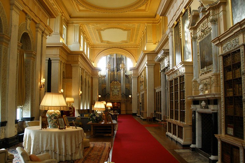 The Interior of Blenheim Palace
