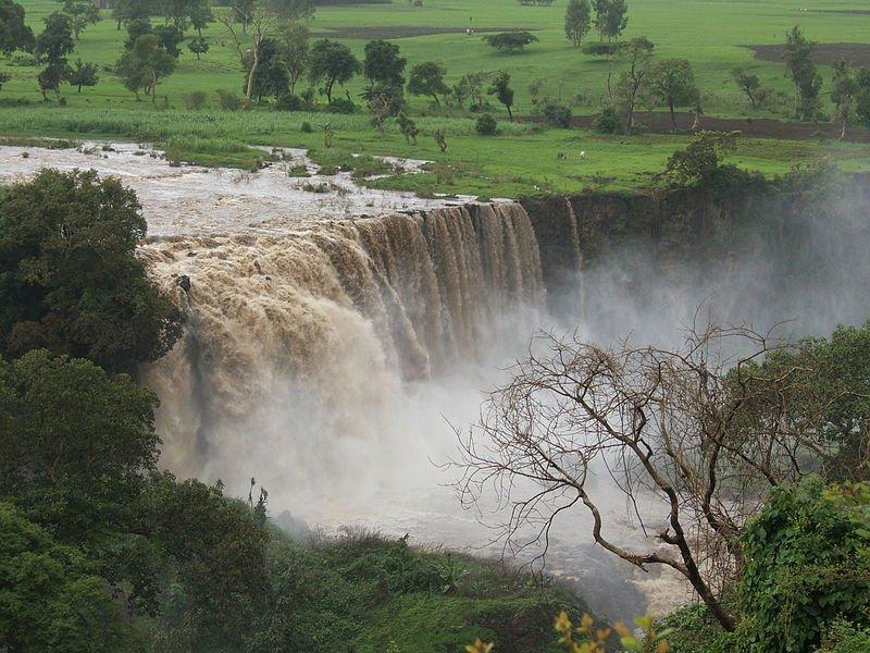 Blue Nile Falls, Sudan