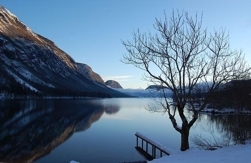 Bohinj Lake, Triglav National Park, Slovenia