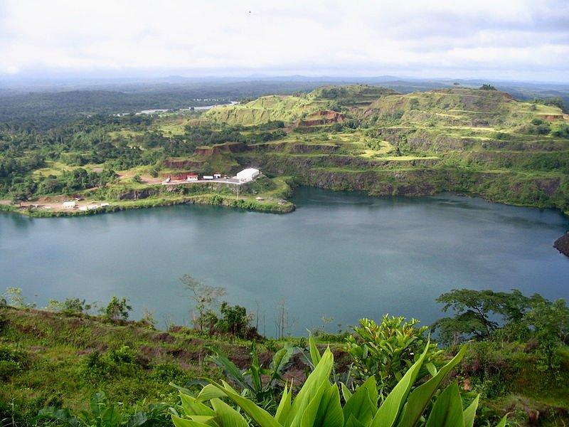 Bomi Lake, Liberia