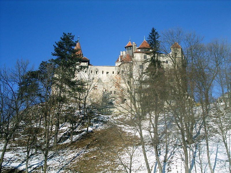 Bran Castle, better known as Dracula's Castle, in Romania