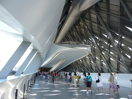 The Bridge Pavilion of Zaragoza, built for Expo 2008
