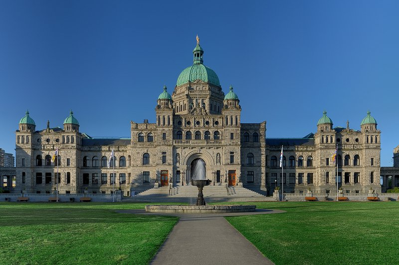 British Columbia Parliament Building, Canada
