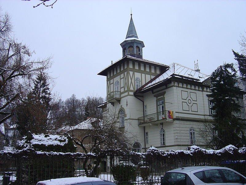 A charming building in Ljubljana