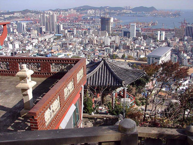 Busan from Weolbongsa Temple