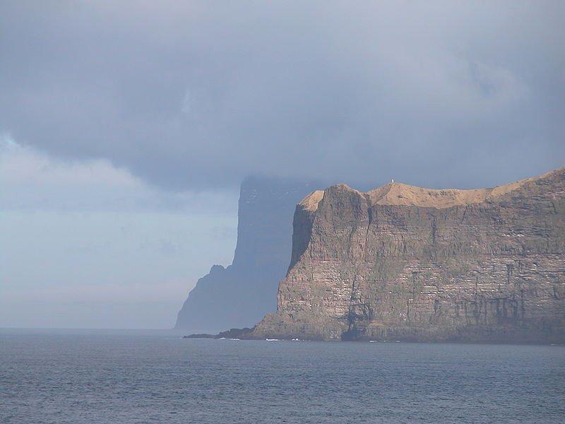Cape Enniberg, Faroe Island