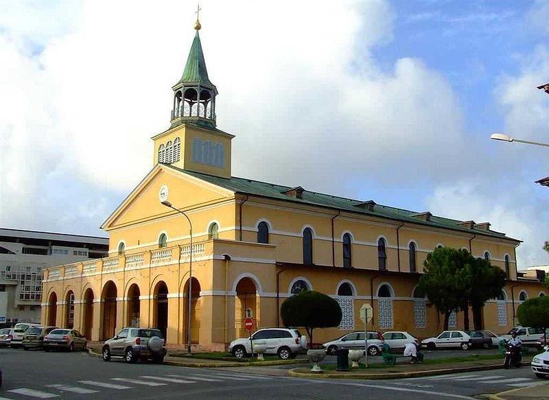 Cathédrale Saint-Sauveur de Cayenne, French Guiana