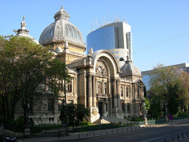 CEC (Casa de Economii şi Consemnatiuni) Building, Bucharest