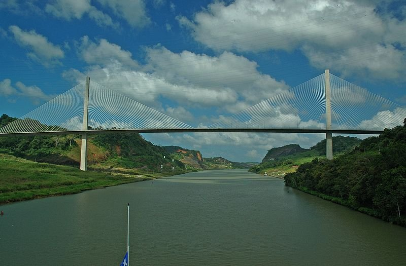 Centennial Bridge across the Panama Canal