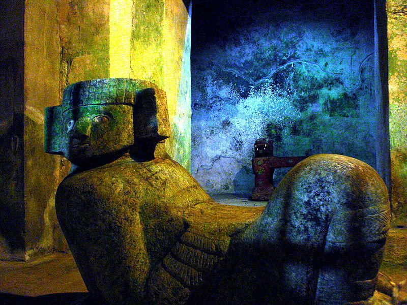 Chac Mool, ancient Mayan god