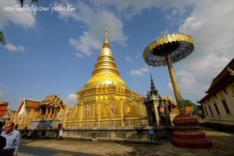 Chedi, Wat Haripunchai