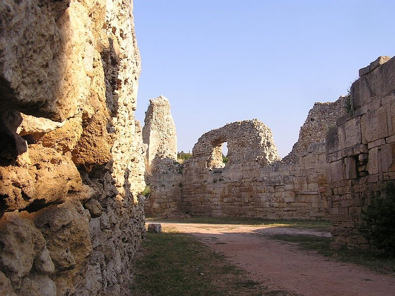 Ancient Greek ruins of Chersonesus Taurica, Sevastopol