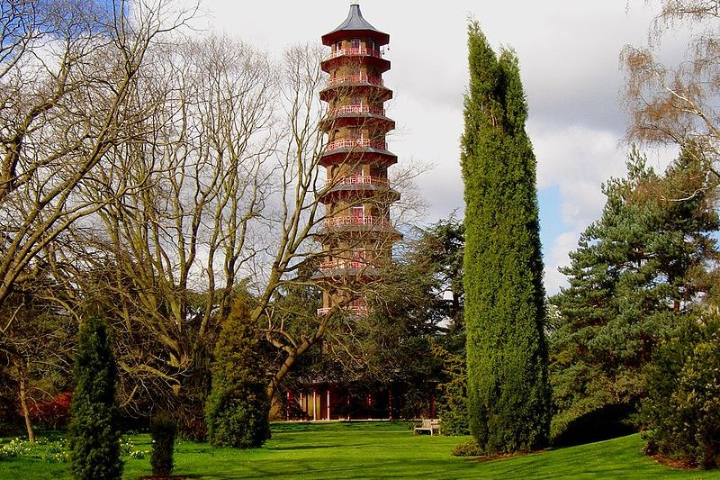 The Chinese Pagoda of Kew Gardens