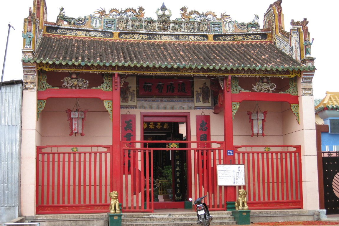 Chua Ong Chinese Temple in Phan Rang-Thap Cham, Vietnam