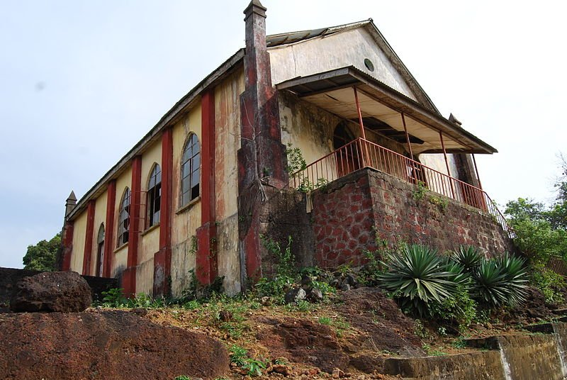 Church in Robertsport, Liberia