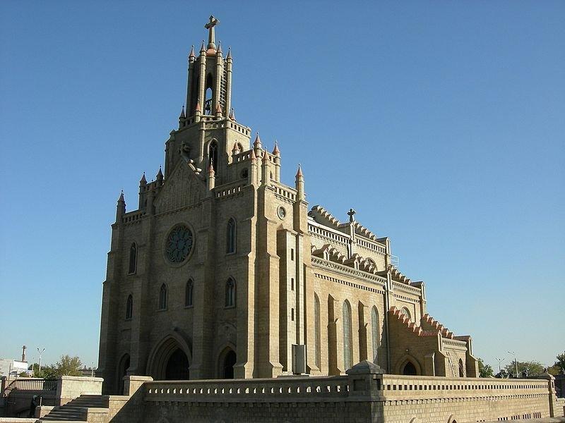 Church in Tashkent, Uzbekistan