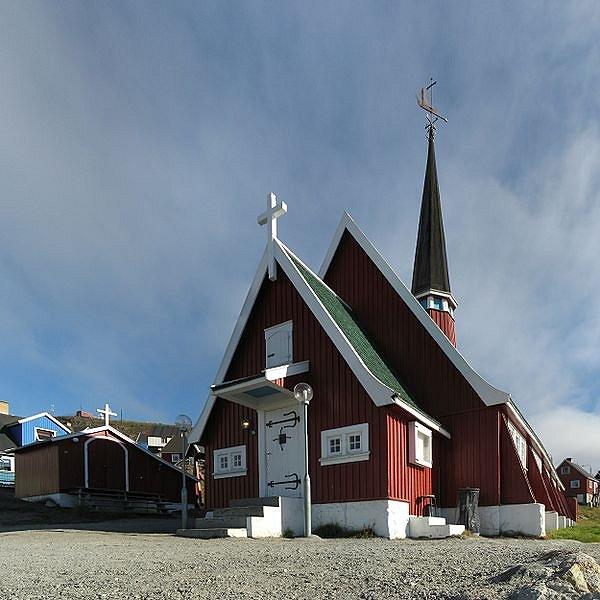 Church in Upernavik, Greenland