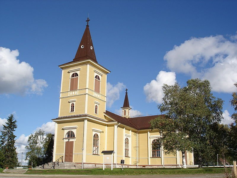 Church of Muonio, Finland
