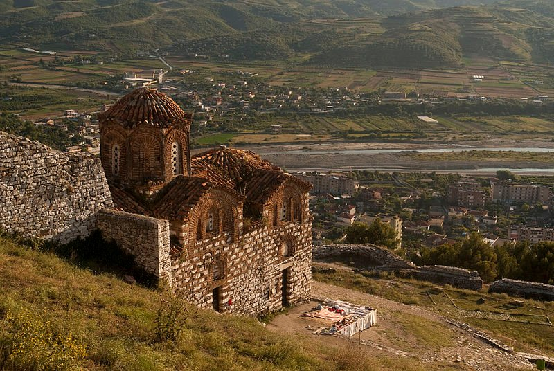Church of St Mary of Vllaherna, Albania