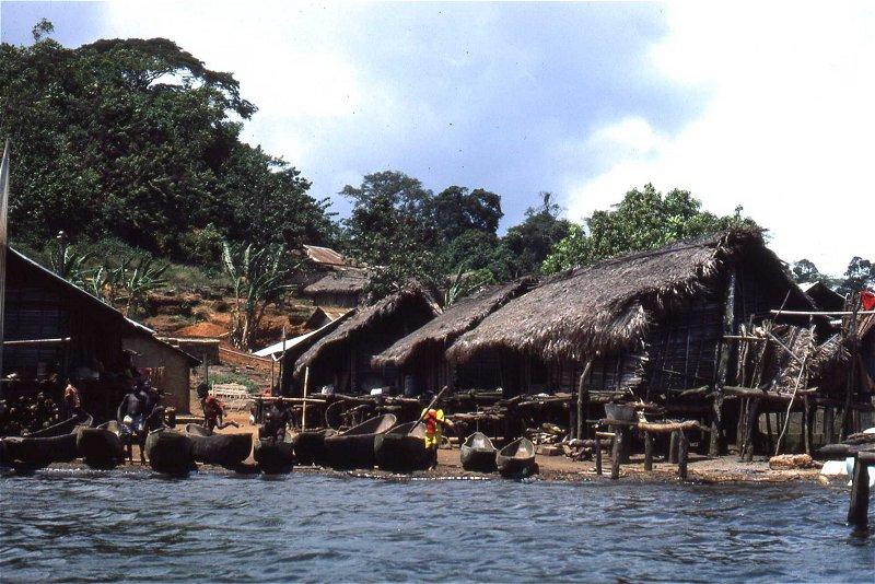 Coastal village, Côte d'Ivoire