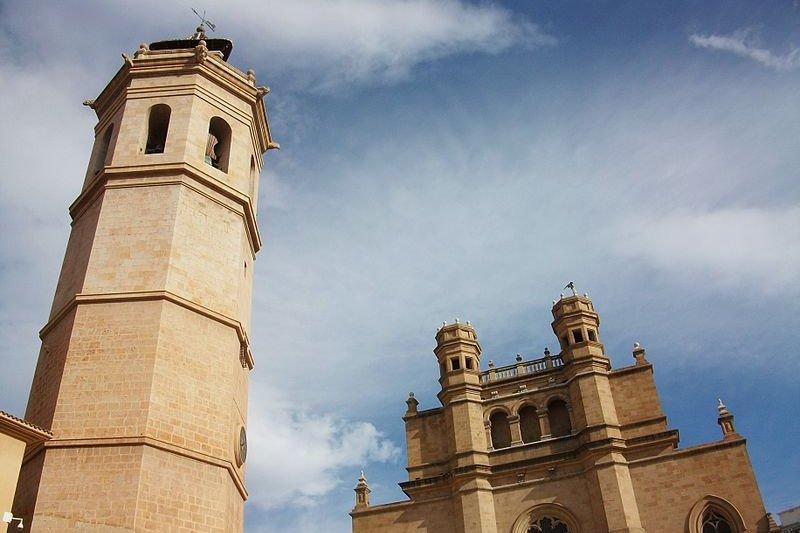 Cocatedral de Santa Maria de Castell&oacute