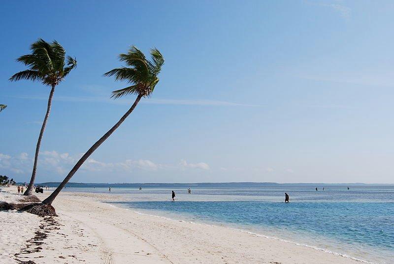 Coco Cay Beach, the Bahamas