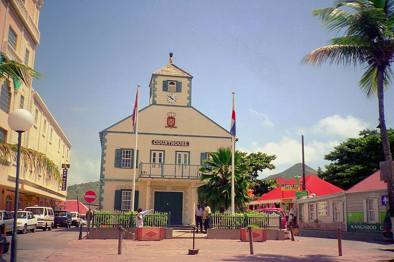 Court House in Philipsburg, Sint Maarten