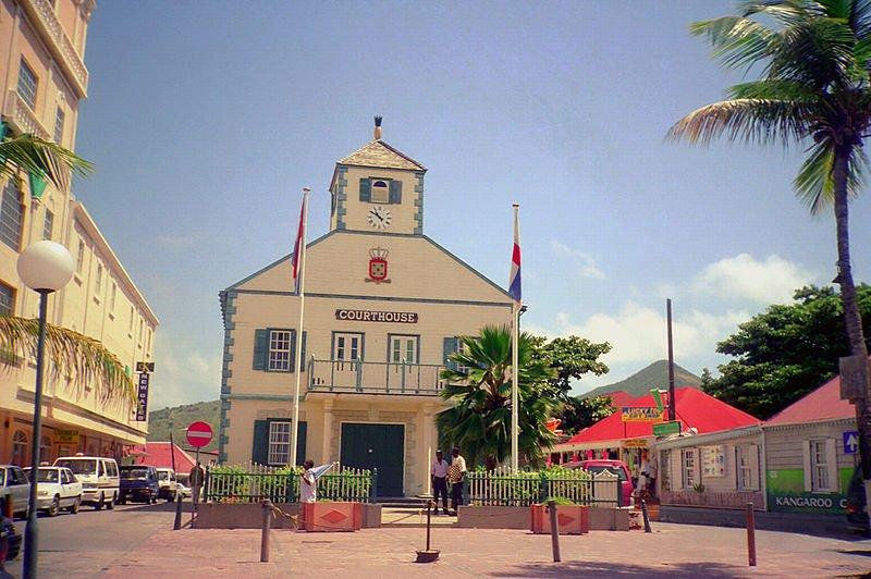 Court House in Philipsburg, Sint Maarten