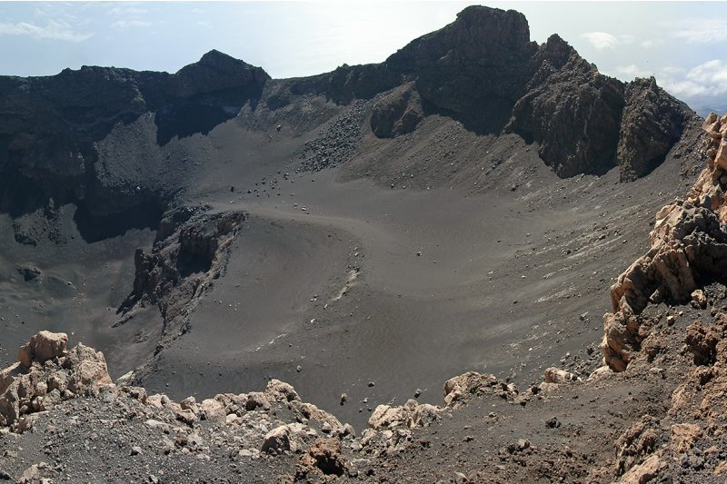 Crater of Pico de Fogo, Cape Verde