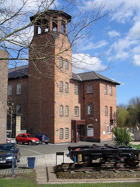 Derwent Valley Mills, Derbyshire, England