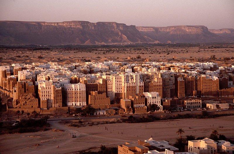 Desert highrise of Wadi Hadramawt, Yemen