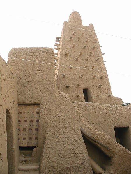 Djingareiber Mosque, Timbuktu, Mali